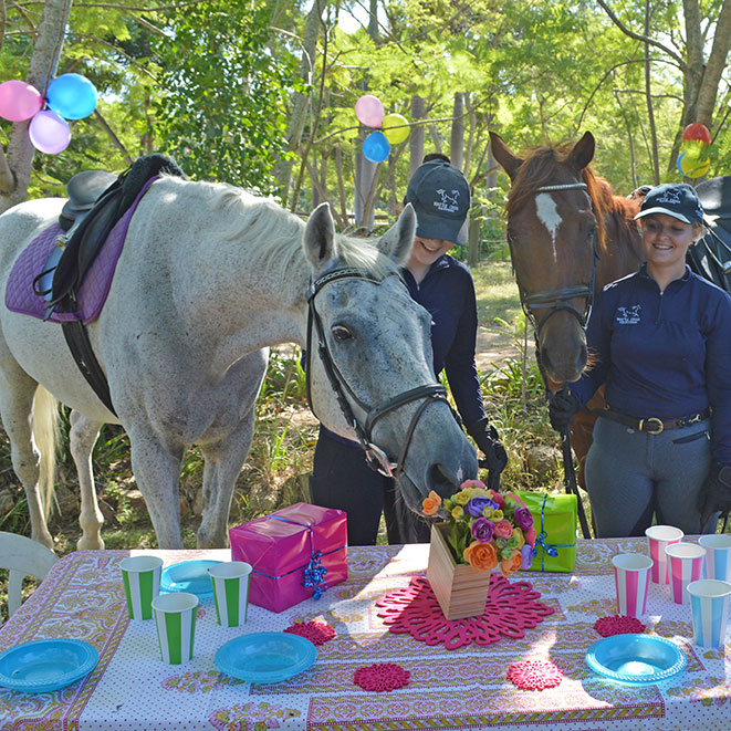 Pony Birthday Parties Brisbane